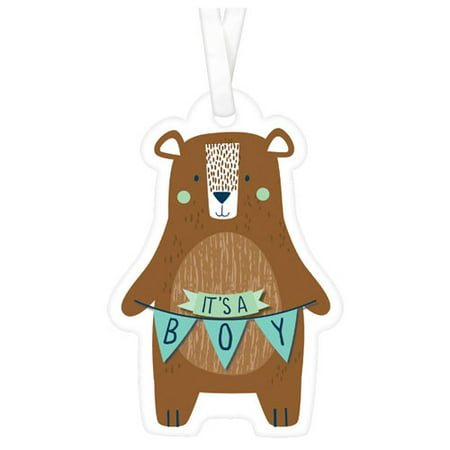 Baby Shower 'We Can Bear-ly Wait' Favor Tags (25ct) - Care Bear Baby Shower