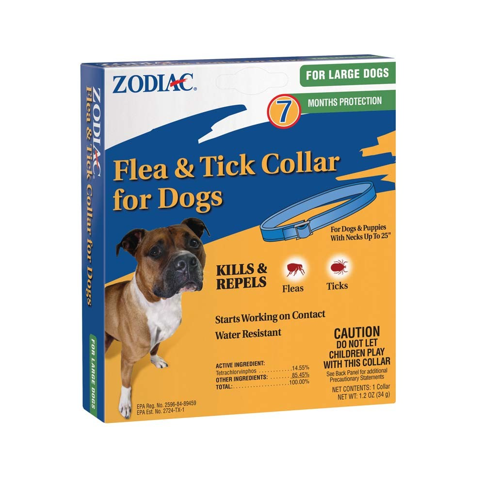 Farnam Pet-Zodiac Flea & Tick Collar For Dogs- Under 5 Pounds Large
