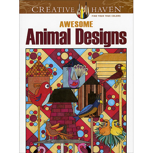 Dover Publications Awesome Animal Designs