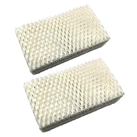 HQRP 2-pack Wick Filter for Emerson MoistAIR 1205, 1211, 2412, HD500, HD6200, HD7002, HD7005, HD70020, HD70021, HD70050 Humidifier