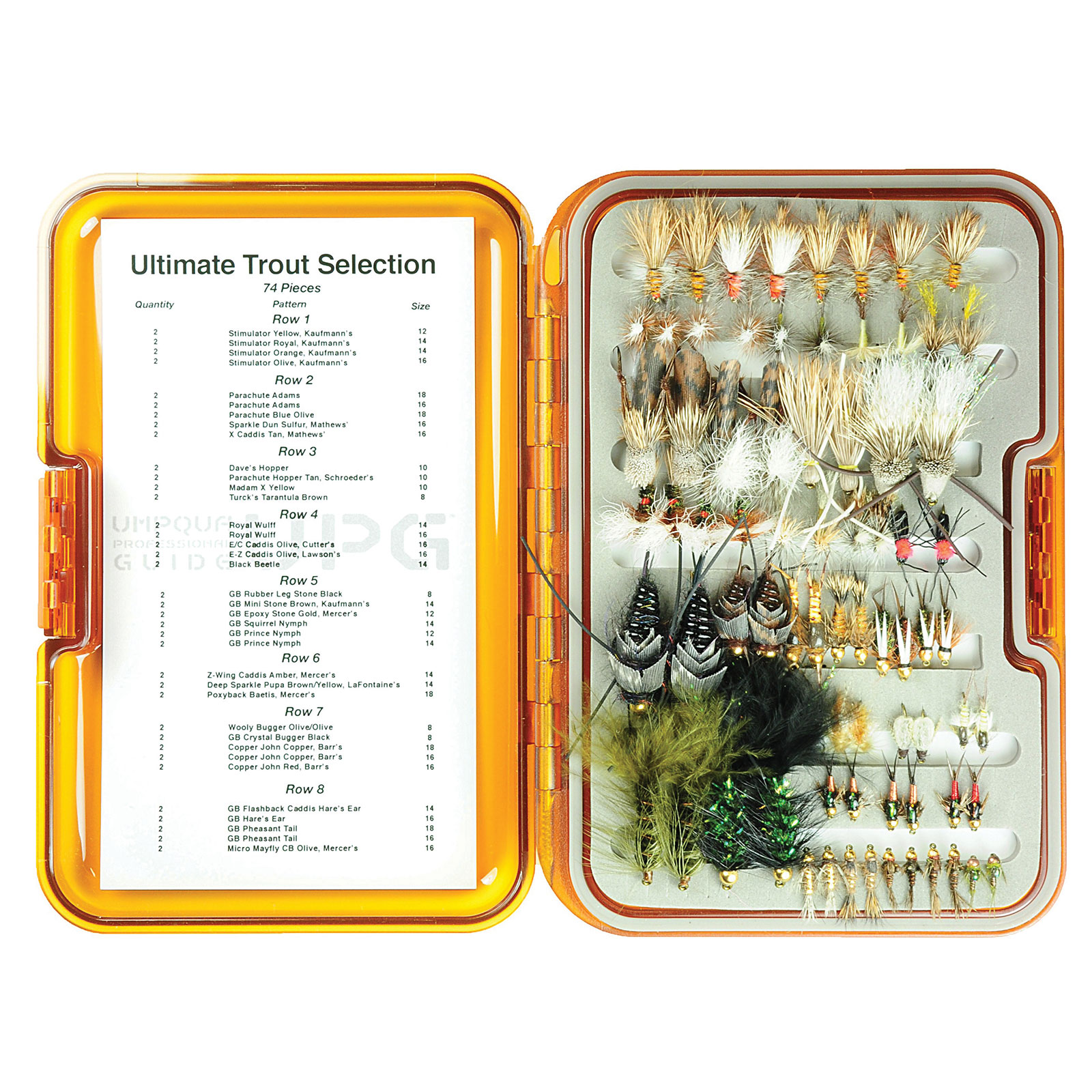 Umpqua Fly Fishing Ultimate Trout Selection UPG Fly Box