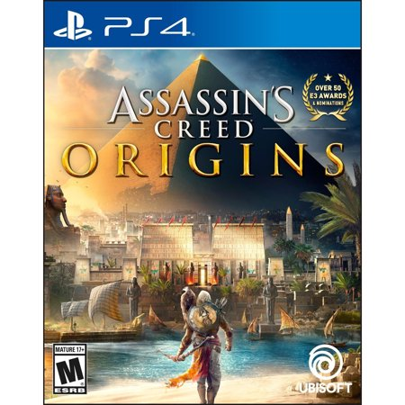 Assassin's Creed: Origins, Ubisoft, PlayStation 4, PRE-OWNED, - Assassin's Creed Cloak