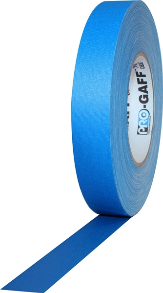 Pro Gaff Electric Blue Gaffers Tape 1 inch x 55 yards by