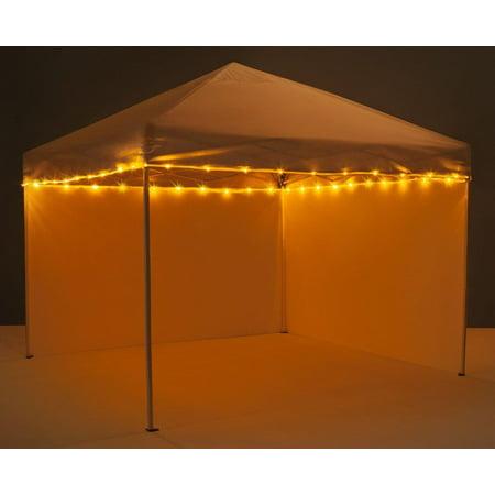 Canopy Brightz LED Tailgate Canopy & Patio Umbrella Accessory, Orange](Tailgating Accessories)