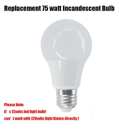 10 Watt (Equivalent) LED 12 Volt Light RV Bulbs E26 Standard