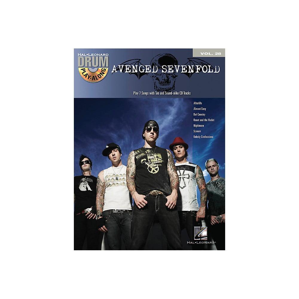 Hal Leonard Avenged Sevenfold Drum Play-Along Volume 28 Book/CD