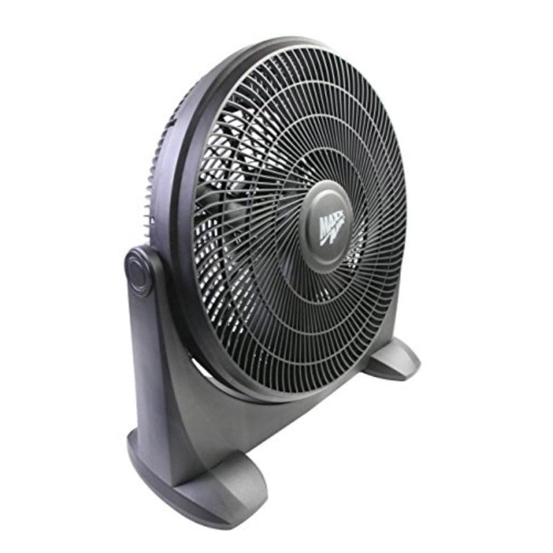Maxxair HVFF 18P 18-inch Heavy Duty Plastic Floor Fan