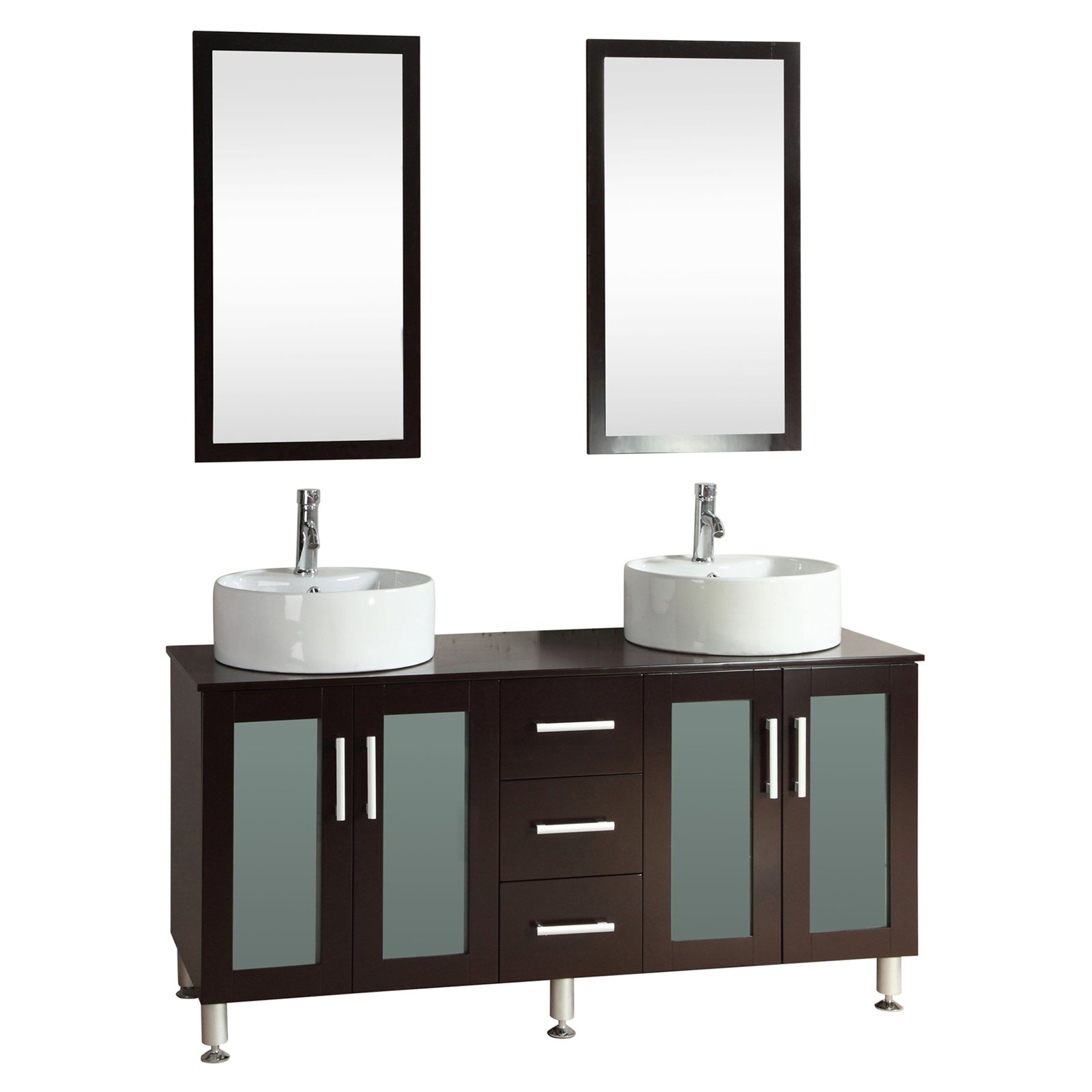Kokols 9130 60 in. Double Sink Bathroom Vanity