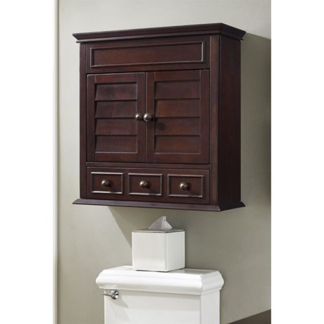 Crosely lydia medicine cabinet in espresso for Espresso bathroom medicine cabinet