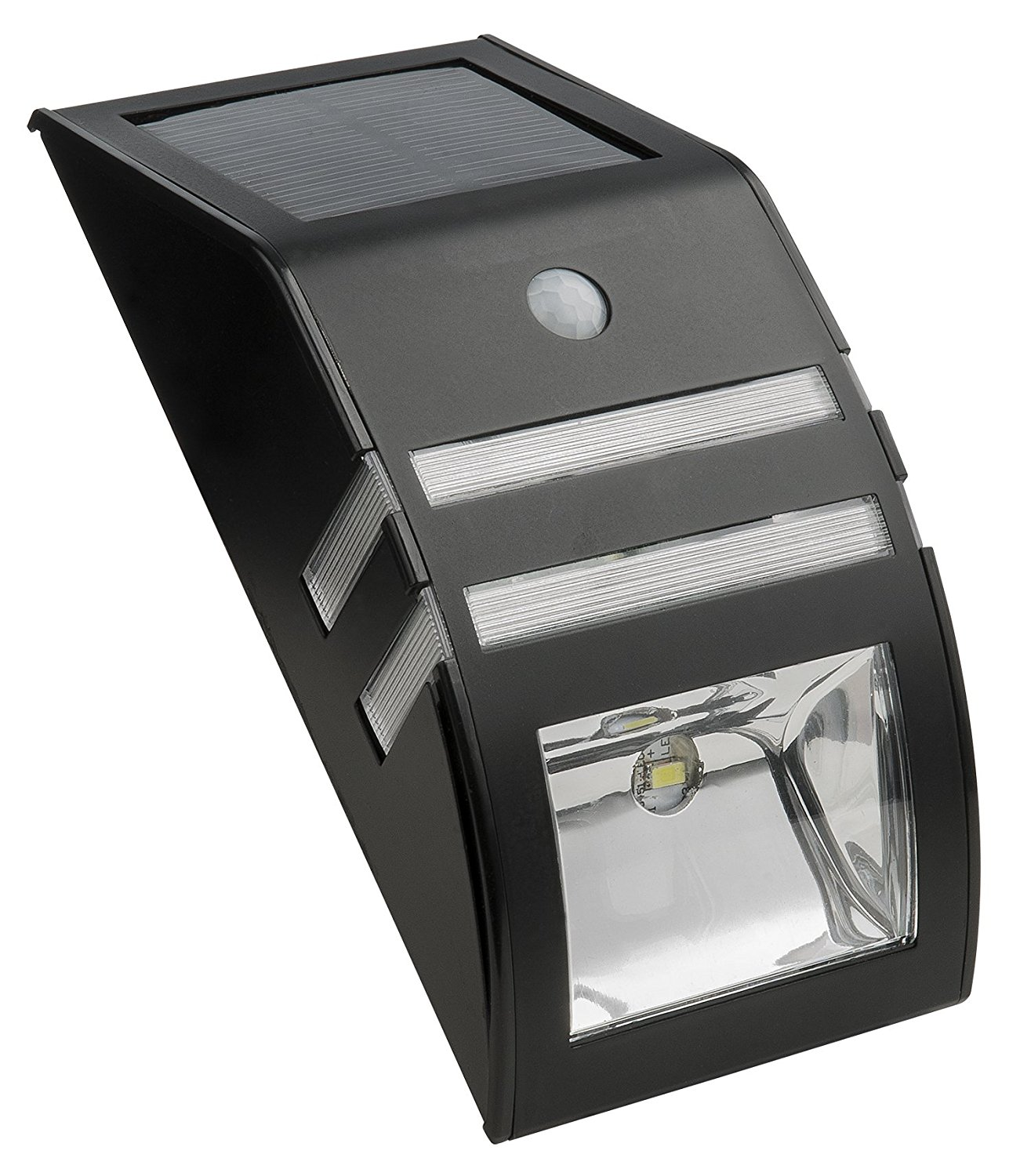 Gl23101mb Solar Stainless Steel Security Light Built In Solar Panel By Paradise