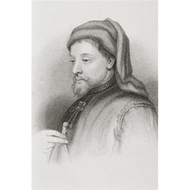 Posterazzi DPI1861183 Geoffrey Chaucer Circa 1342 or 1343 to 1400 English Author Poster Print, 11 x 17 - image 1 of 1