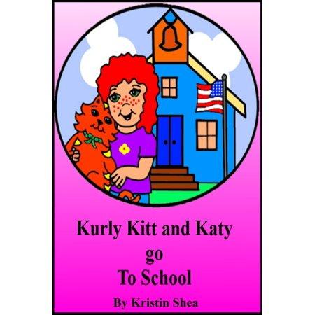 Richco Kurly Lock - Kurly Kitt And Katy Go To School - eBook