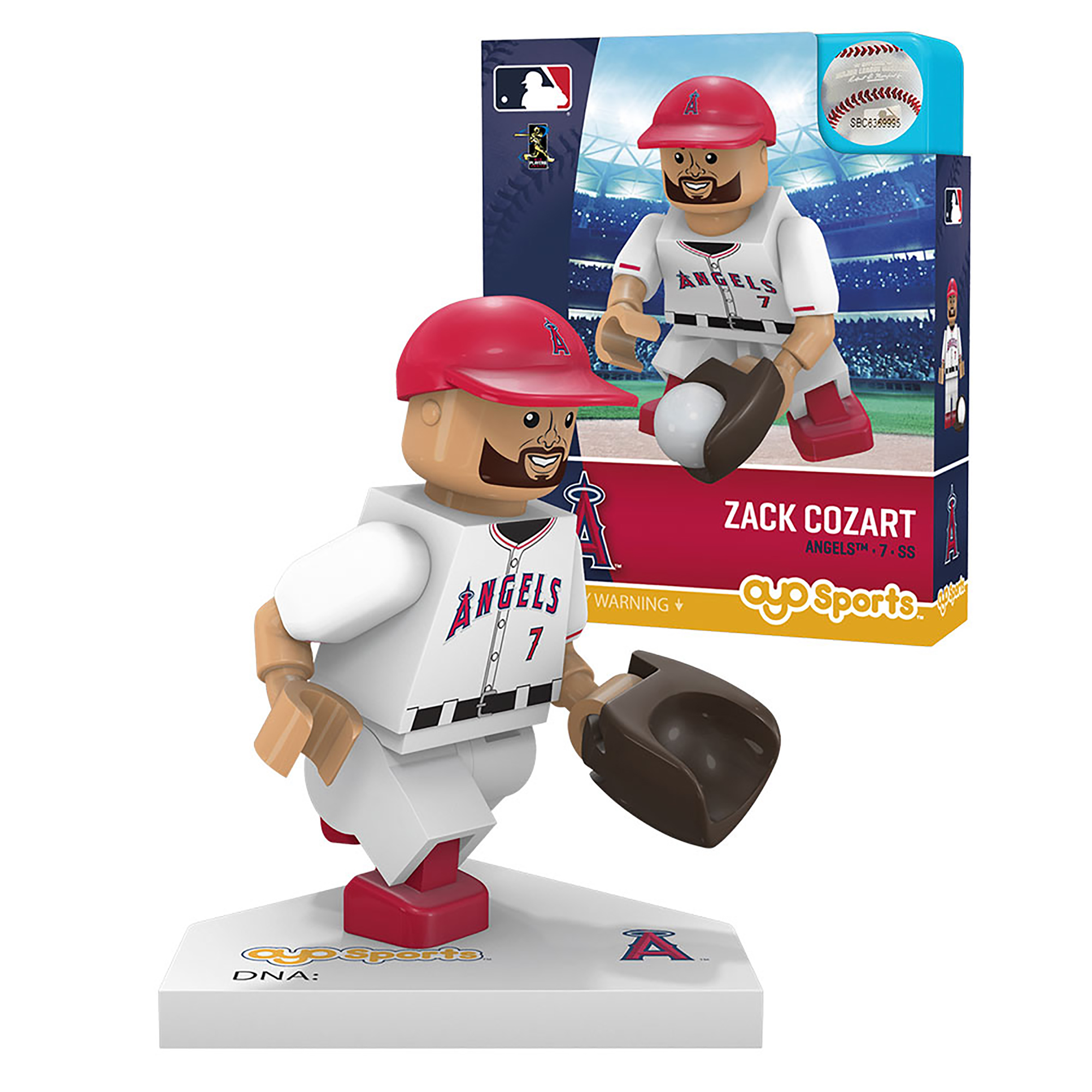 Zack Cozart Los Angeles Angels OYO Sports Player MLB Minifigure - No Size