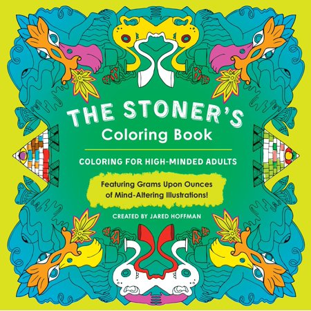 The Stoner's Coloring Book : Coloring for High-Minded - Halloween Coloring Games Online