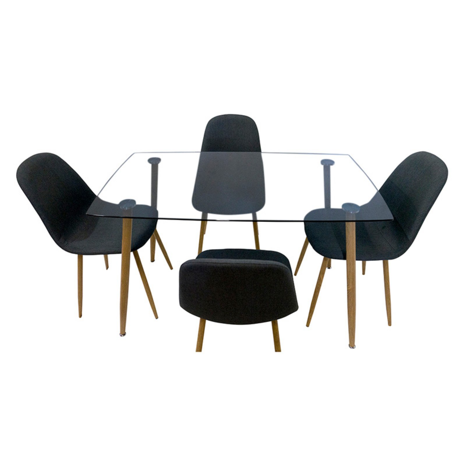 Collection German Furniture Borhes Dining Table and Chairs Set