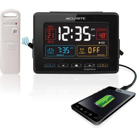 Image of AcuRite Atomic Dual Alarm Clock
