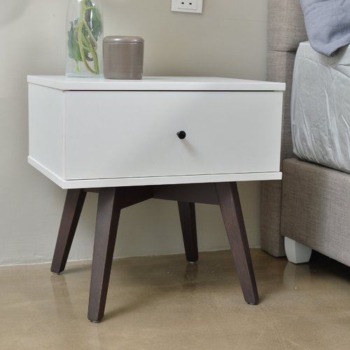 Union Rustic Paulson Bedside 1 Drawer Nightstand