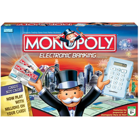 Monopoly   Electronic Banking Edition  2007 Printing  Vg  Nm