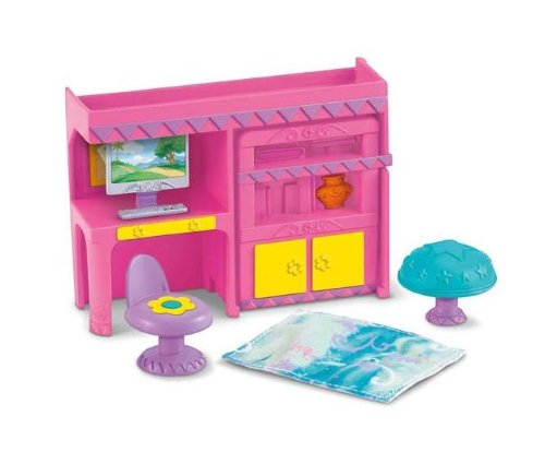 Fisher Price Dora the Explorer Dollhouse Bedroom by