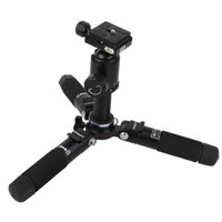 "FotoPro M5 Mini 3-Section Aluminum Tripod with FPH-41Q Ball Head, 6 lbs Capacity, 17"" Maximum Height"