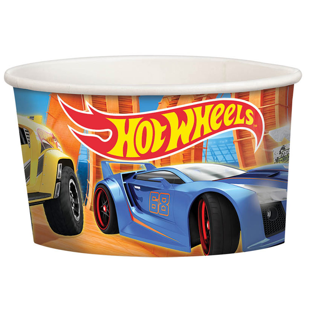 Hot Wheels Wild Racer Treat Cups (8 Count) - Party Supplies