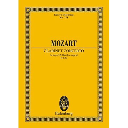 Wolfgang Amadeus Mozart: Clarinet Concerto a Major
