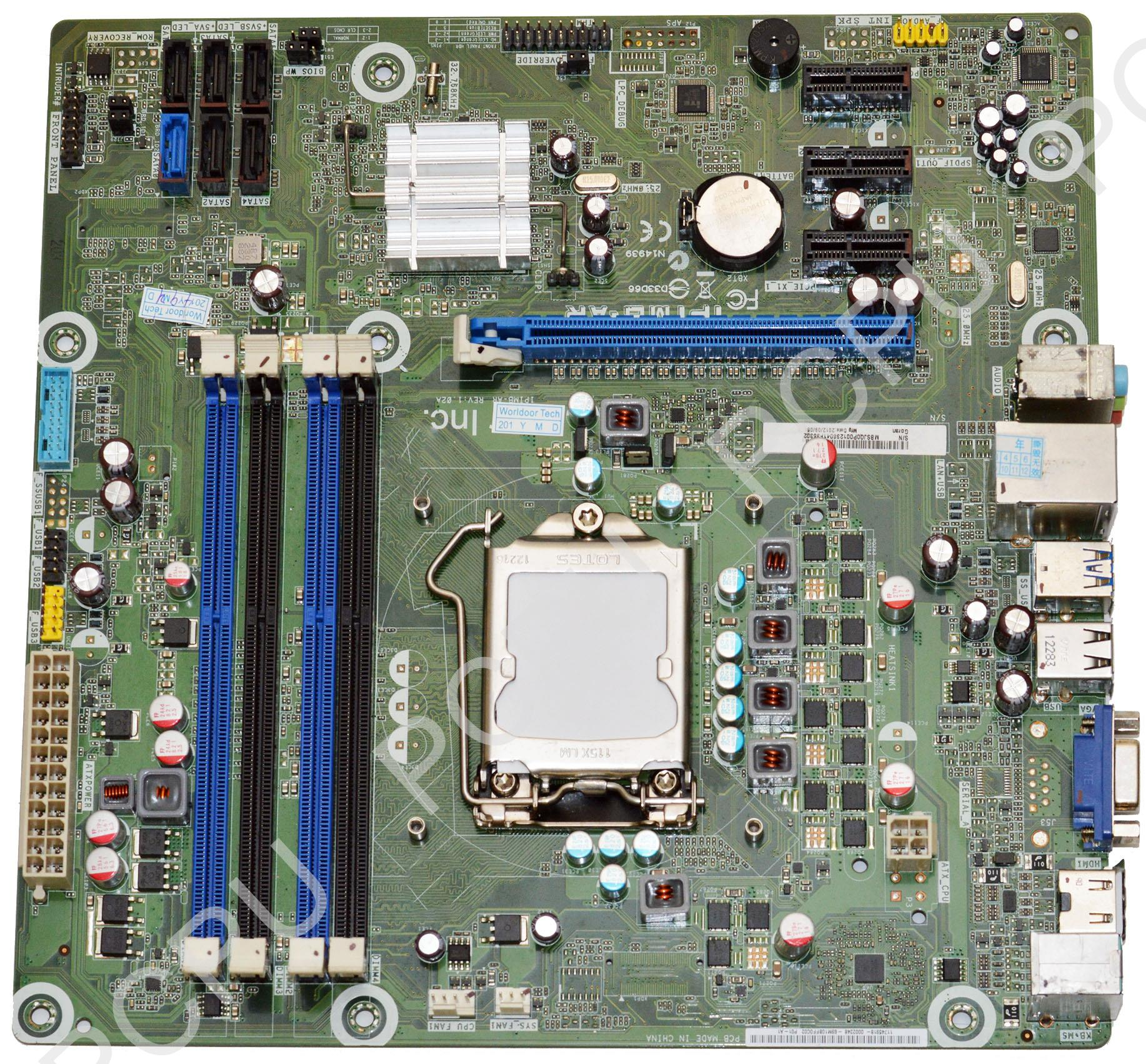 MB.SJQ0P.001 Acer Intel Desktop Motherboard s1156
