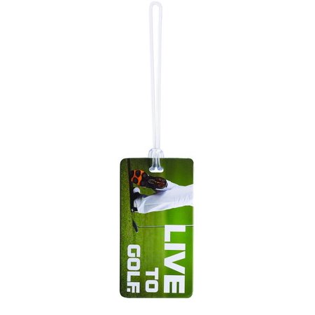 Lewis N. Clark Luggage Tag Live to Golf
