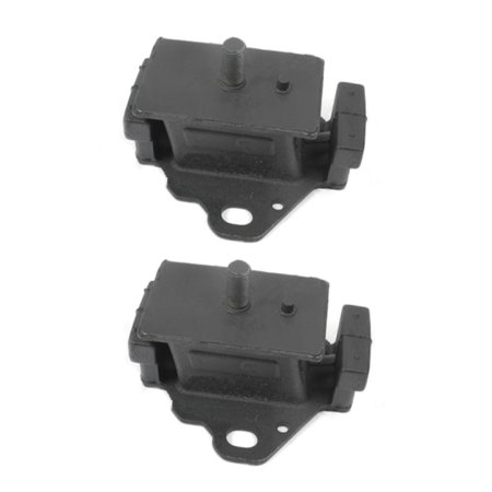 Fits: 1984-1995 Toyota Pickup 2.4L Front Left & Right Engine Motor Mount Set 2PCS 84 85 86 87 88 89 90 91 92 93 94 95 MK7213x2 M480 ()