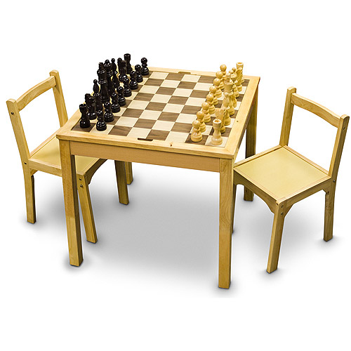 Sterling Games Wooden Chair Set for Chess Table  sc 1 st  Walmart & Sterling Games Wooden Chair Set for Chess Table - Walmart.com
