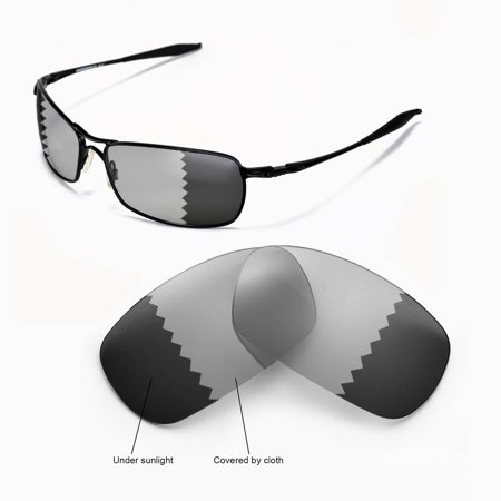 40a2be6f7d Walleva - Walleva Transition Photochromic Polarized Replacement Lenses for Oakley  Crosshair 2.0 Sunglasses - Walmart.com
