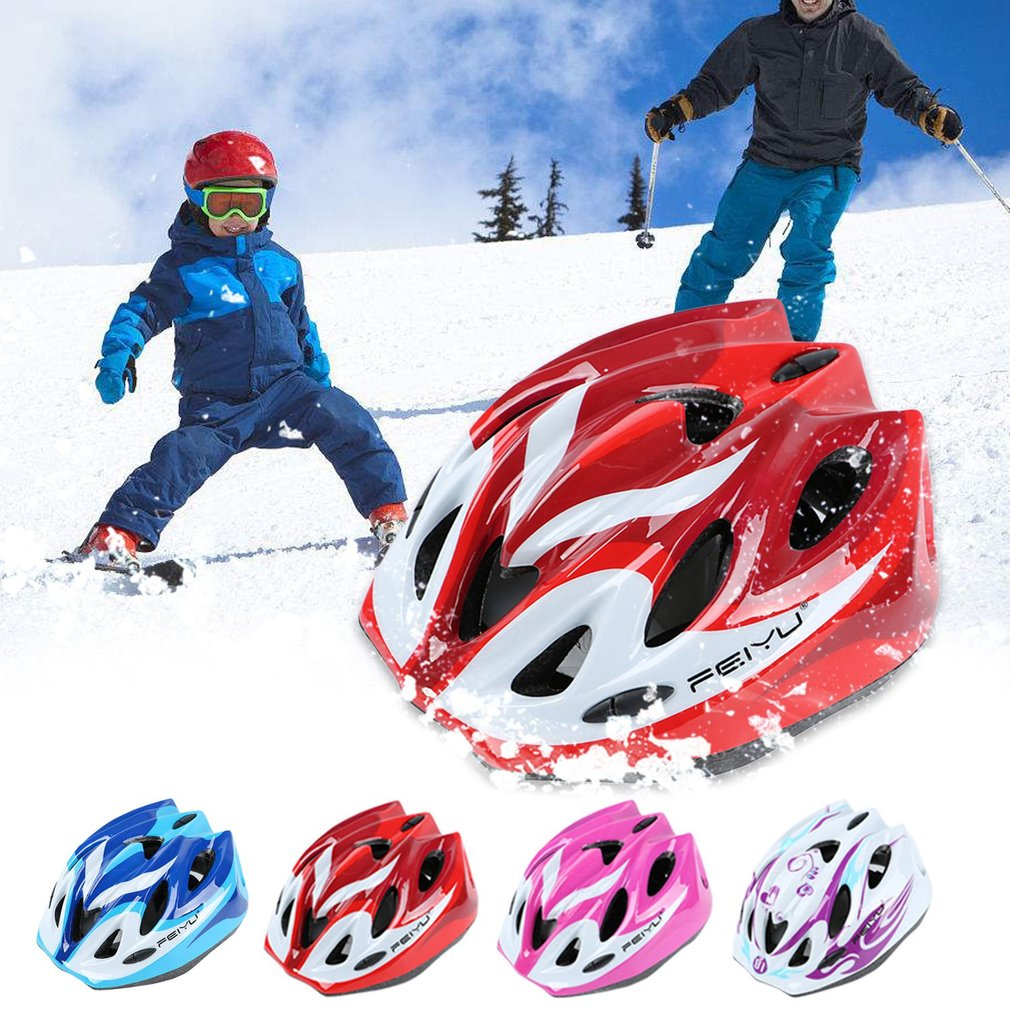 Feiyu 007 Children Protective Helmet Safety Skiing Skating Bike Riding Sports Equipment Outer Shell With... by