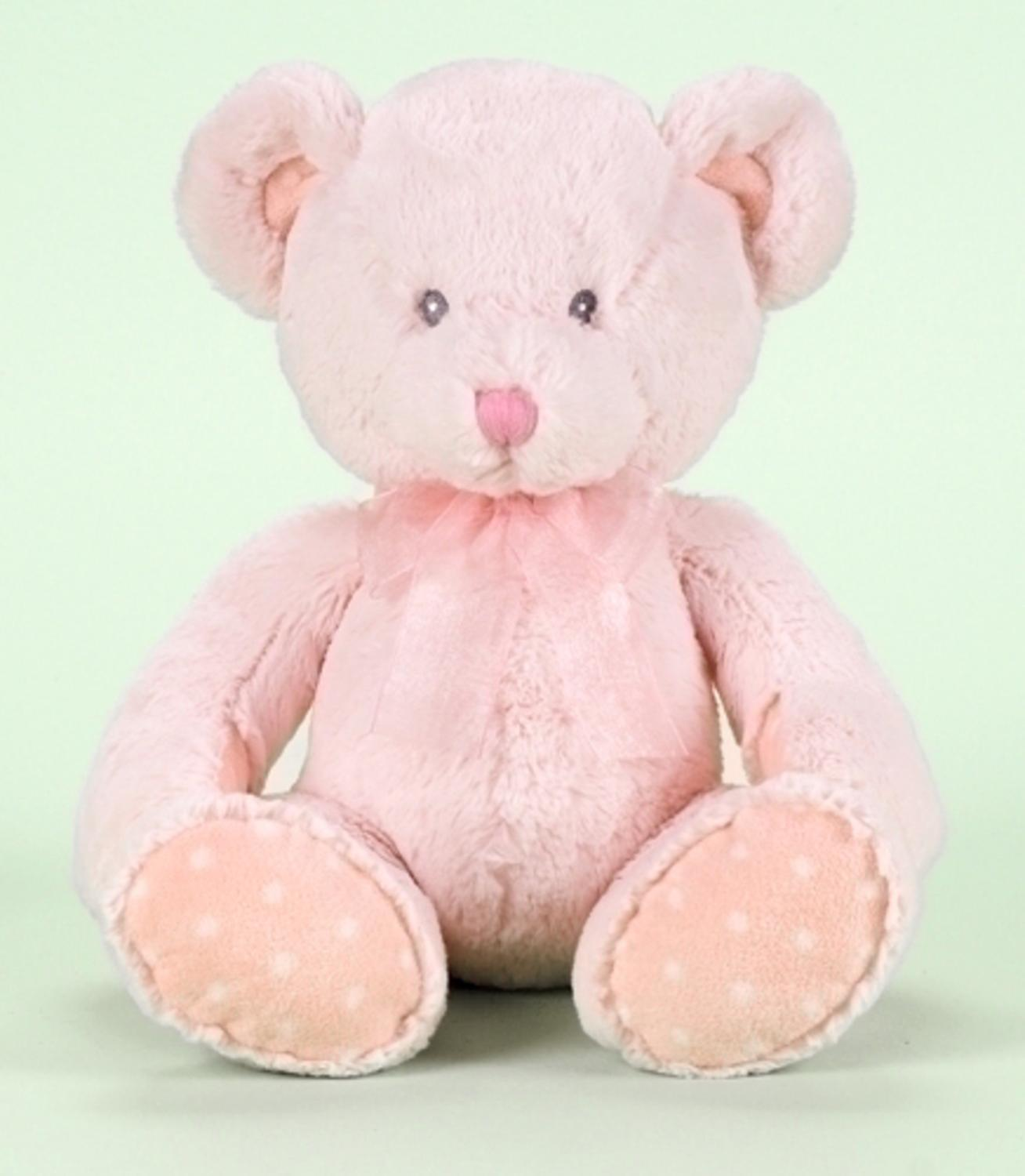 "18"" Pink Child's Soft Plush Teddy Bear for Girls by Roman"