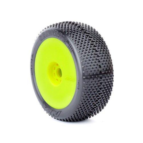 1/8 GRIDIRON II Super Soft EVO Whl Yellow:Buggy Multi-Colored