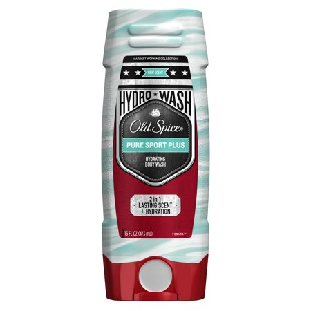 Old Spice Hydrating Body Wash - Old Spice Hydro Wash Body Wash Hardest Working Collection Pure Sport Plus 16 oz