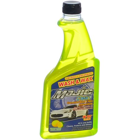 Majic Carnauba Car Wash Wax Best Way To Clean Shine Protect Your Car Paint