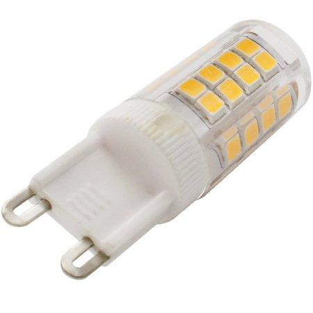 3 Pack 110v 5w G9 Led Bulb 40w Equivalent 2700k Warm White Light