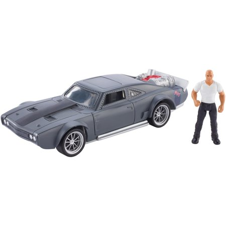 Fast & Furious Stunt Stars Dom + Ice Charger (Furious 7 Sound)