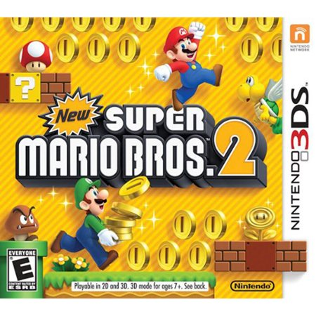 New Super Mario Bros. 2, Nintendo, Nintendo 3DS, [Digital Download], 0004549668001 - Two Bros