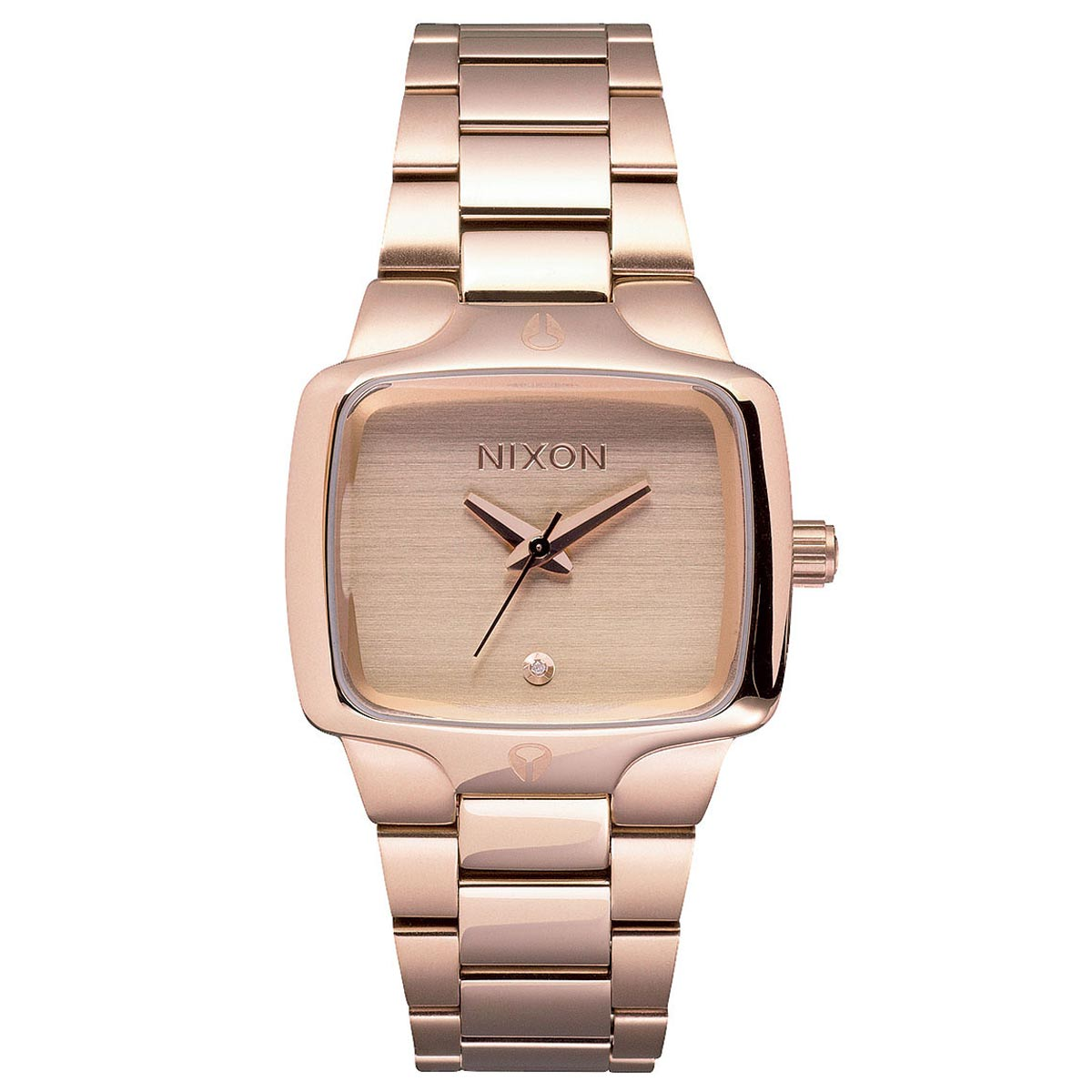 Nixon A300897 Women's The Small Player Rose Gold Dial Ros...