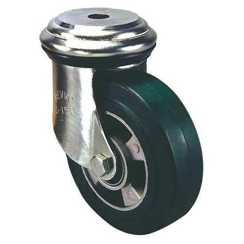 REVVO BS5 200 PT15 Hollow Kingpin Swivel Caster,2200lb,Poly
