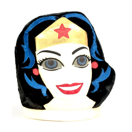 Maskimals Oversized Plush Halloween Mask - Wonder Woman (Halloween Female Names)