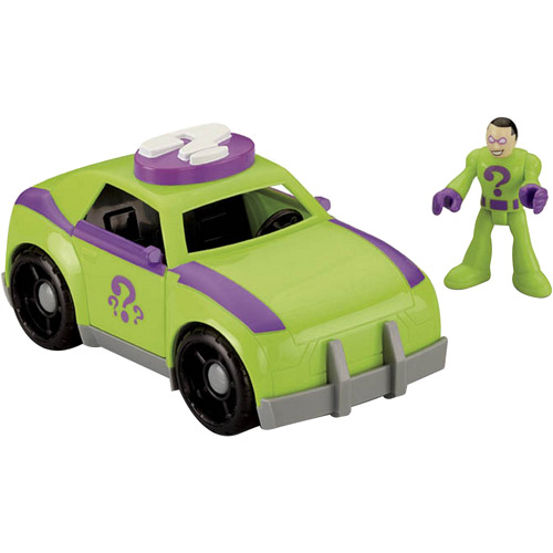 Fisher Price Imaginext DC Super Friends Riddler Action Fi...