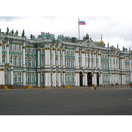 LAMINATED POSTER Building Russia Winter Palace Peter Poster Print 11 x 17