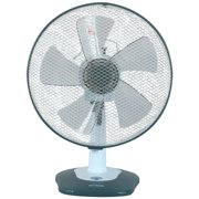 "Optimus F-1212 12"" Oscillating Table Fan with Soft Touch Switch"