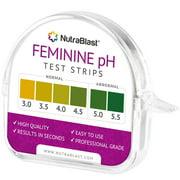 NutraBlast Feminine pH Test Strips, 100 Ct