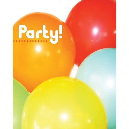 - Chic Birthday party Invitation, 8 Count for any occasion