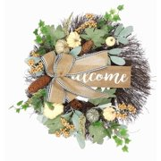 Way To Celebrate Harvest Wreaths.