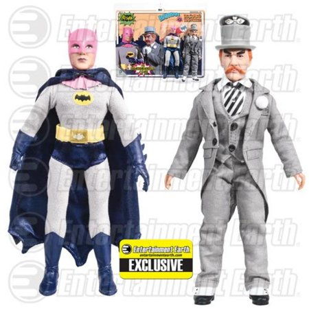 Batman Contaminated Cowl vs. Mad Hatter Figures EE