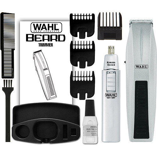 WAHL Mustache & Beard Battery-Operated Trimmer, Model 5537-420